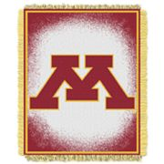 Minnesota Golden Gophers Jacquard Throw Blanket by Northwest
