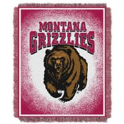 Montana Grizzlies Jacquard Throw Blanket by Northwest