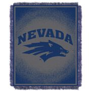 Nevada Wolf Pack Jacquard Throw Blanket by Northwest