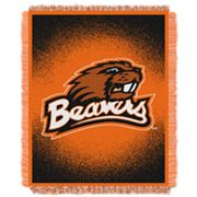 Oregon State Beavers Jacquard Throw Blanket by Northwest