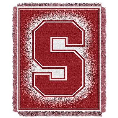 Stanford Cardinal Jacquard Throw Blanket by Northwest