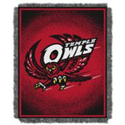 Temple Owls Jacquard Throw Blanket by Northwest