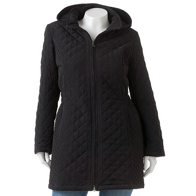 Braetan Hooded Quilted Jacket - Women's Plus