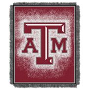 Texas A and M Aggies Jacquard Throw Blanket by Northwest
