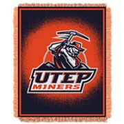 UTEP Miners Jacquard Throw Blanket by Northwest