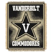Vanderbilt Commodores Jacquard Throw Blanket by Northwest