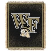 Wake Forest Demon Deacons Jacquard Throw Blanket by Northwest