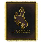 Wyoming Cowboys Jacquard Throw Blanket by Northwest