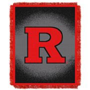 Rutgers Scarlet Knights Jacquard Throw Blanket by Northwest