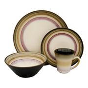Sango Arcadia Black 16-pc. Dinnerware Set