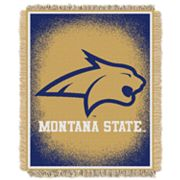 Montana State Bobcats Jacquard Throw Blanket by Northwest
