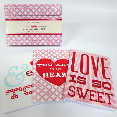 SONOMA life + style 3-pc. Love Is So Sweet Journal Set