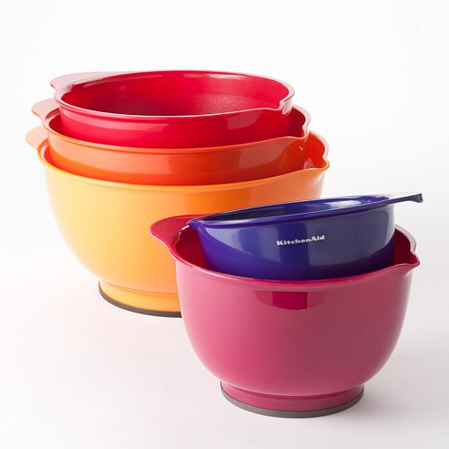 Kitchenaid 5 Pc Multicolor Mixing Bowl Set
