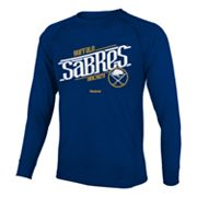 Reebok Buffalo Sabres Custom Hockey Tee - Boys 8-20