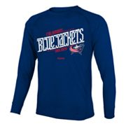Reebok Columbus Blue Jackets Custom Hockey Tee - Boys 8-20