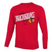 Reebok Chicago Blackhawks Custom Hockey Tee - Boys 8-20