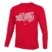 Reebok Detroit Red Wings Custom Hockey Tee - Boys 8-20