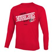 Reebok Carolina Hurricanes Custom Hockey Tee - Boys 8-20