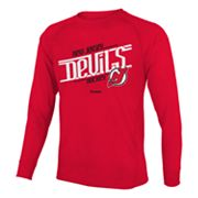 Reebok New Jersey Devils Custom Hockey Tee - Boys 8-20