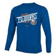 Reebok New York Islanders Custom Hockey Tee - Boys 8-20