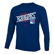Reebok New York Rangers Custom Hockey Tee - Boys 8-20