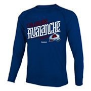 Reebok Colorado Avalanche Custom Hockey Tee - Boys 8-20