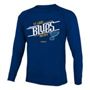 Reebok St. Louis Blues Custom Hockey Tee - Boys 8-20