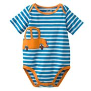 Jumping Beans Car Striped Bodysuit - Baby