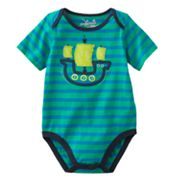 Jumping Beans Sailboat Striped Bodysuit - Baby