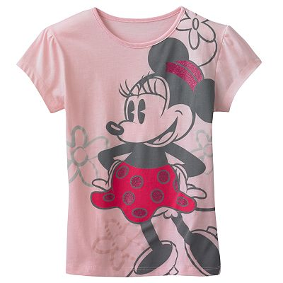 Disney Mickey Mouse and Friends Minnie Mouse Tee - Girls 4-6x