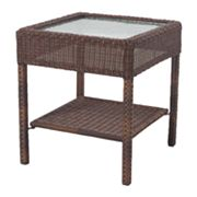 SONOMA outdoors Presidio Wicker Side Table