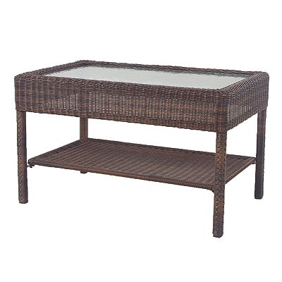 SONOMA outdoors Presidio Wicker Coffee Table