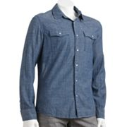 Urban Pipeline Chambray Western Shirt - Men