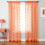 Droplet 1-pack Window Curtain - 53'' x 84''