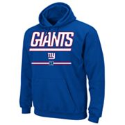 New York Giants Pullover Fleece Hoodie - Big and Tall