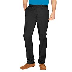 Men's Croft & Barrow® Classic-Fit Full-Elastic Comfort-Waist Pants