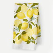 SONOMA life + style Lemon Print Kitchen Towel