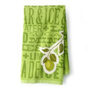 SONOMA life + style Lime Patch Kitchen Towel