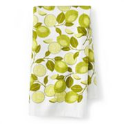 SONOMA life + style Lime Print Kitchen Towel