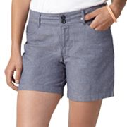 Dockers Truly Slimming Yarn-Dyed Shorts