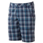 FILA SPORT GOLF Palm Beach Plaid Shorts