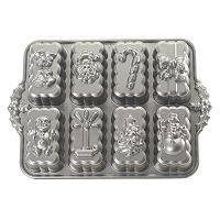 Nordic Ware 8 cupHoliday Mini Loaf Pan