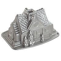 Nordic Ware Gingerbread House Bundt Cake Pan