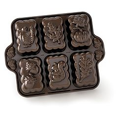 Nordic Ware 6-Cup Harvest Mini Loaf Pan