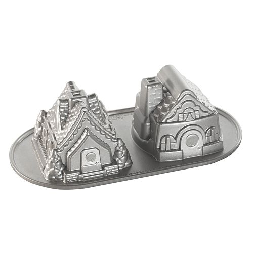 Nordic Ware Gingerbread House Duet Cake Pan