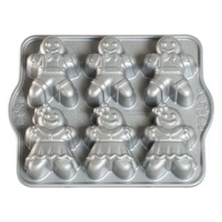Nordic Ware 6-Cup Gingerbread Kids Cakelet Pan
