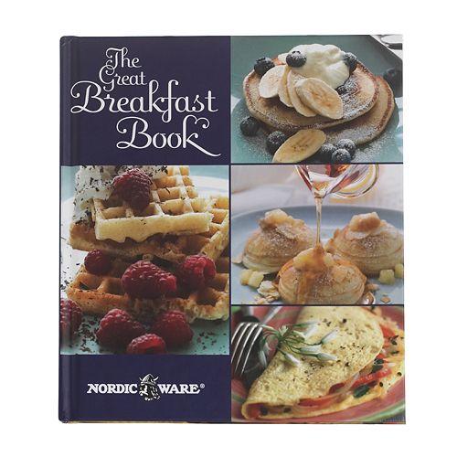 """Nordic Ware """"The Great Breakfast Book"""" Cookbook"""