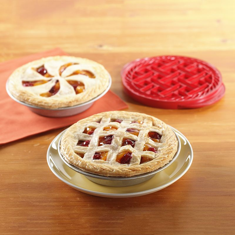Nordic Ware 3-pc. Mini Pie Baking Kit, Red