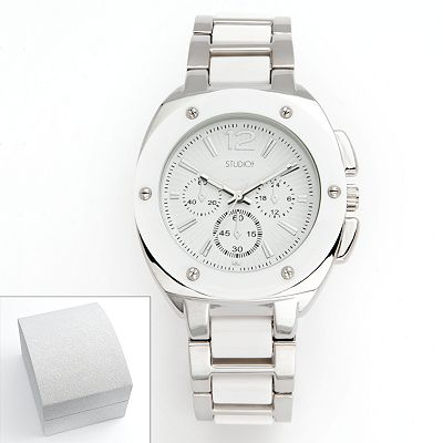 Studio Time Silver Tone Watch - Women