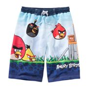 Angry Birds Swim Trunks - Boys 4-7